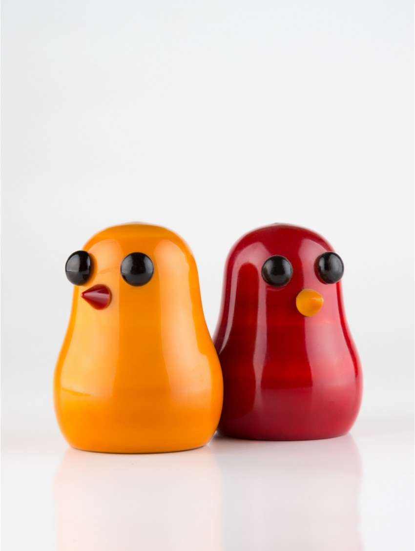 Chuck-Puck Pepper-n-Salt Shakers