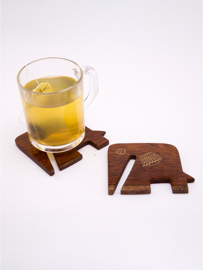 The Baabu Gang - set of 2 coasters